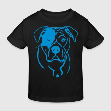 Bulldog - www.dog-power.nl - Kinderen Bio-T-shirt