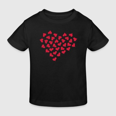 Lots of Hearts and Love  - Organic børne shirt