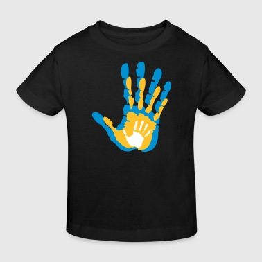 Family Handy, Daddy, Mommy, Baby - Kinder Bio-T-Shirt