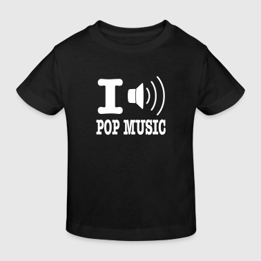 i love pop music NL - Kinderen Bio-T-shirt