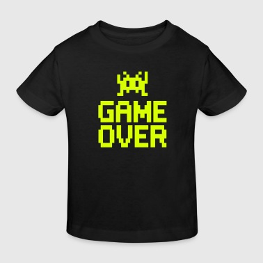 game over with sprite - Kids' Organic T-Shirt