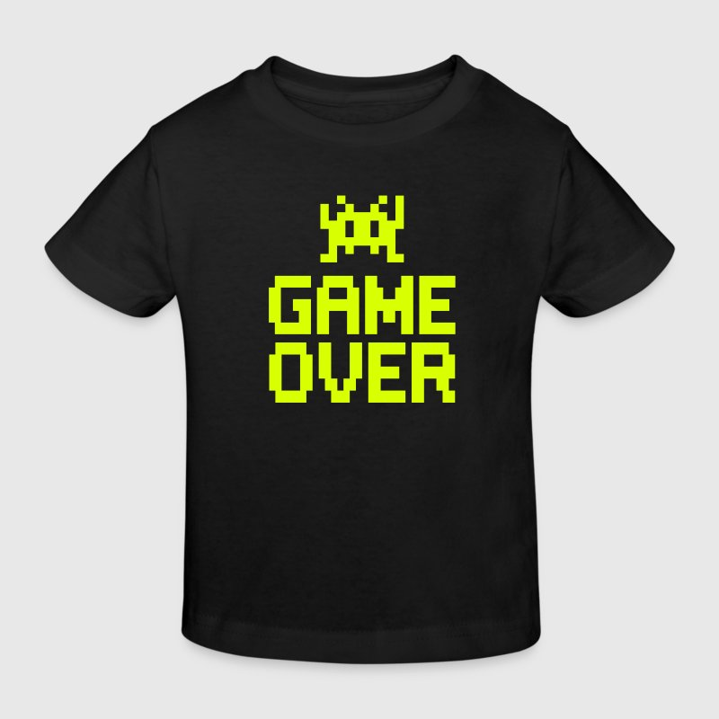 game over with sprite - T-shirt bio Enfant