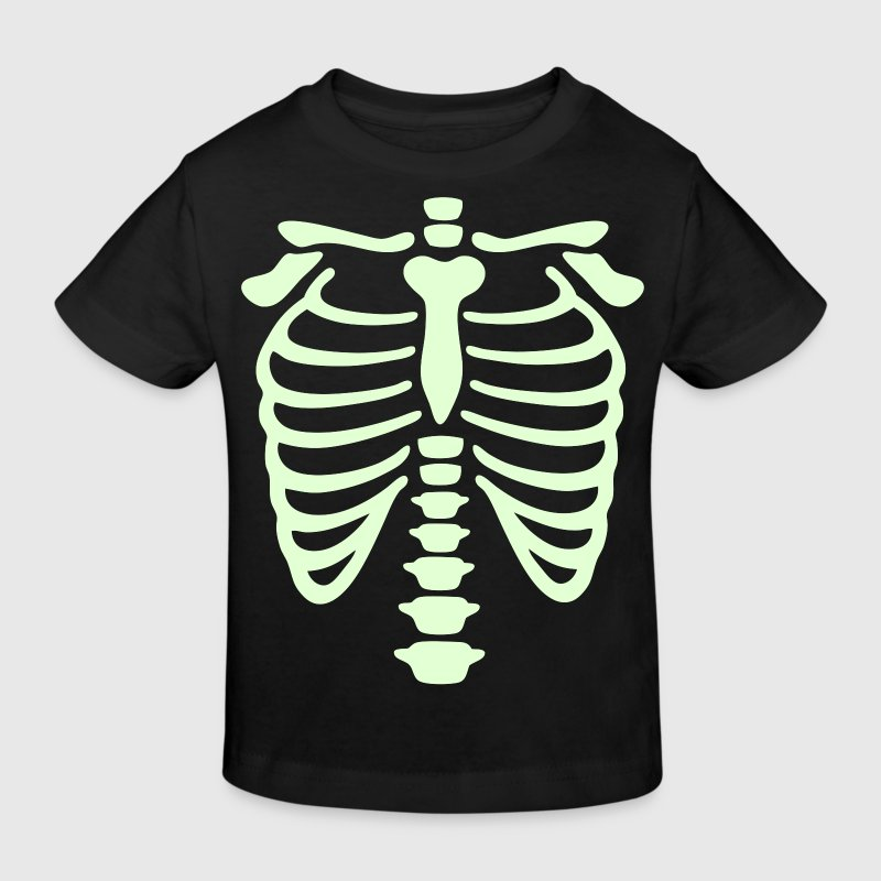 X-Ray rib-case - Kids' Organic T-shirt
