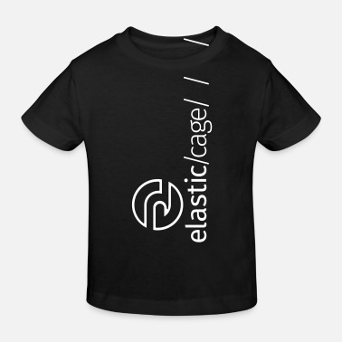 Cage Elastic Cage Independent Black - Kinder Bio T-Shirt