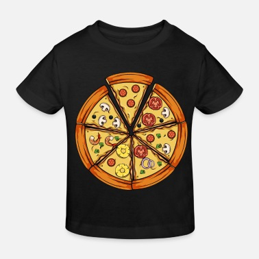 Pizza pizza - Ekologisk T-shirt barn