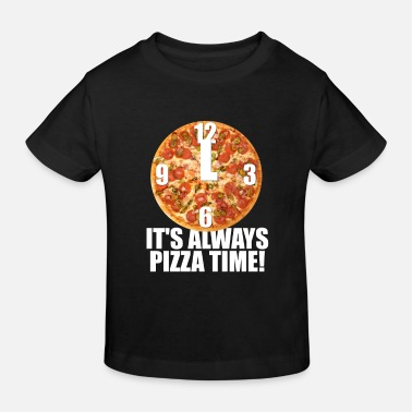 Pizza Love Food Cooking Frozen Gift Italy - Ekologisk T-shirt barn