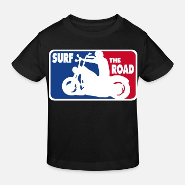 Asphalt Surf the Road - for bikers - Kids' Organic T-Shirt