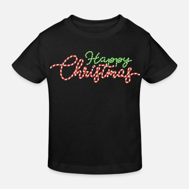 Happy Christmas HAPPY CHRISTMAS - Ekologisk T-shirt barn