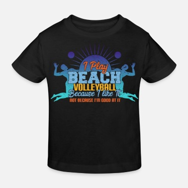 Beach Volley beach-volley - T-shirt bio Enfant