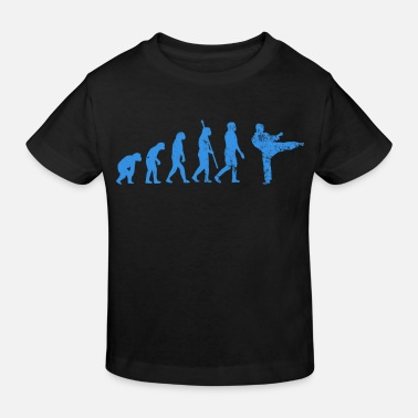 Girl Evolution Judo - Kids' Organic T-Shirt