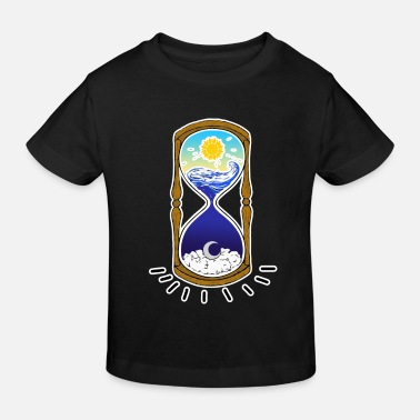 Time TIME - time - Kids' Organic T-Shirt