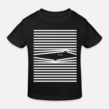 Venetian blind (see-through edition) - Kids' Organic T-Shirt