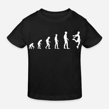 Male Dancer Dancer Male - Evolution - Kids' Organic T-Shirt