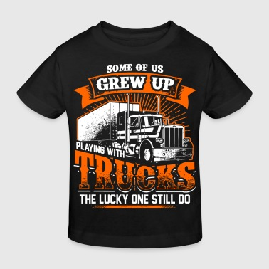 Grew Up - Trucker - EN - Organic børne shirt