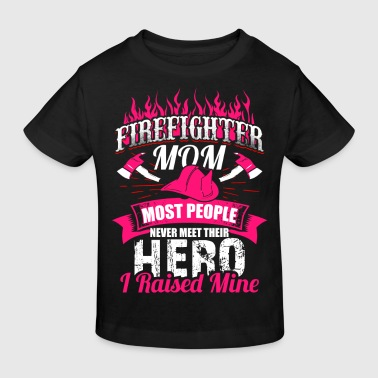 FireFighter Mom - EN - Kinder Bio-T-Shirt