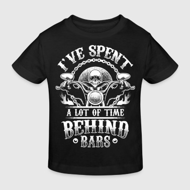 Behind Time Behind Bars - Biker - Kids' Organic T-Shirt