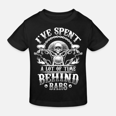 Bars Time Behind Bars - Biker - Kids' Organic T-Shirt