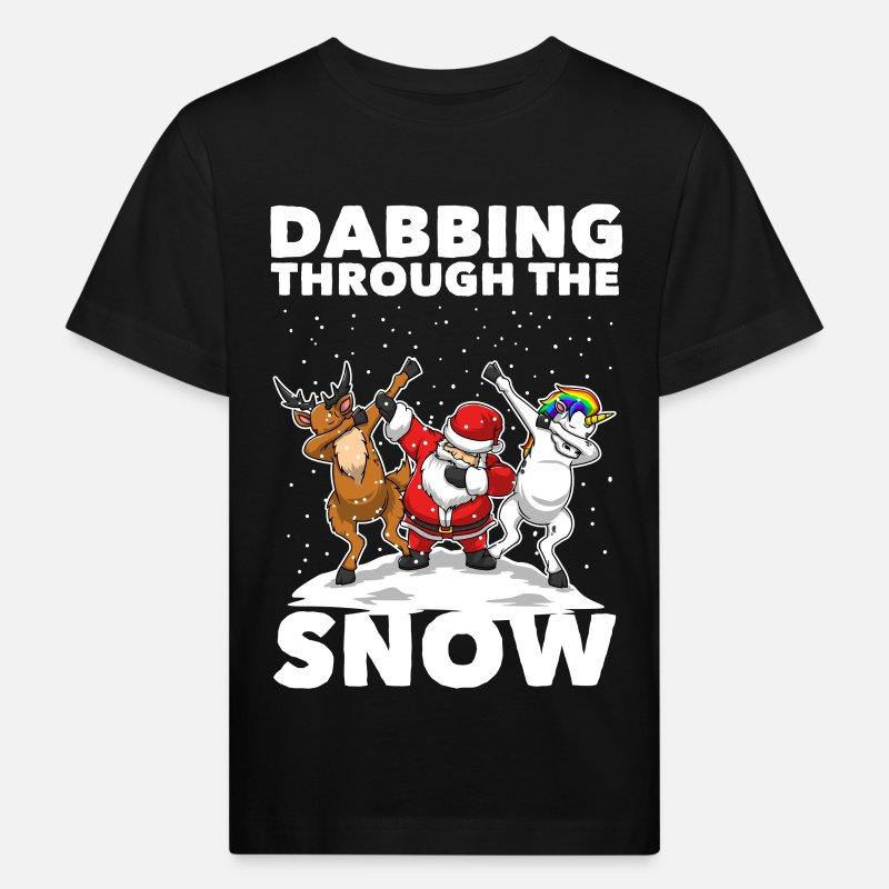 Dabbing Santa Dabbing Einhorn Weihnachten Geschenk Kids