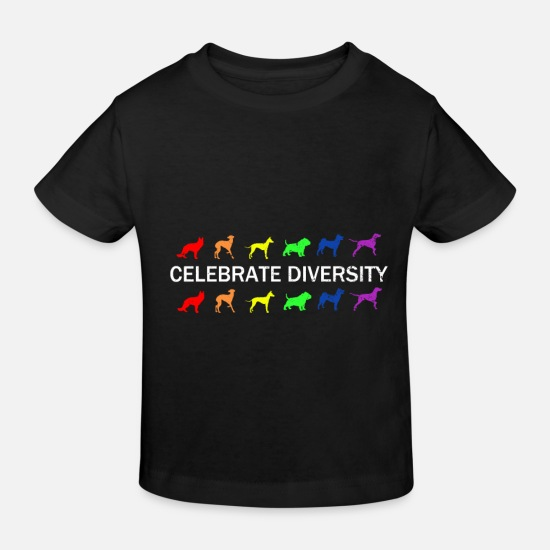Gay Pride Baby Clothes - Gay Pride Gift - Kids' Organic T-Shirt black
