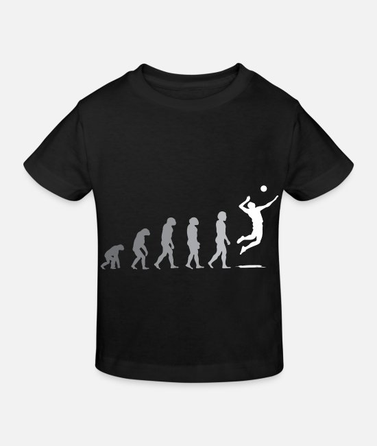 Gift T-shirts - volleybal volleyballer sport volleybalteam gesc - Kinderen bio T-shirt zwart
