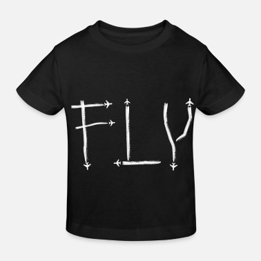Pilot Planes, Aircraft, Aviation Pilot Plane Spotting - Kids' Organic T-Shirt