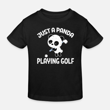 Golf Clubs Panda Golf Panda Golf Golf Club Golf Clubs - Kids' Organic T-Shirt