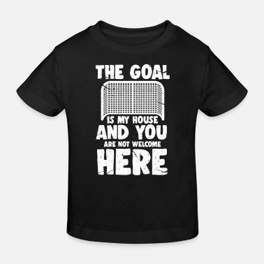Hockey Hockey Goalie Ice Hockey Hockey Goalie Gift - Kids' Organic T-Shirt