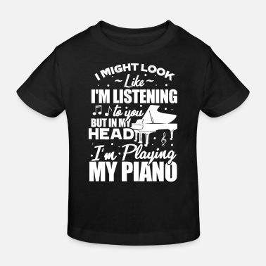 Piano piano - Kids' Organic T-Shirt