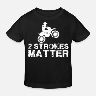 Motocross Two-stroke motorcycle motocross - Kids' Organic T-Shirt