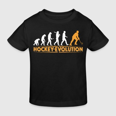 Hockey Evolution - orange/weiss - Ekologisk T-shirt barn