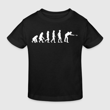 Evolution Billard - Camiseta ecológica niño