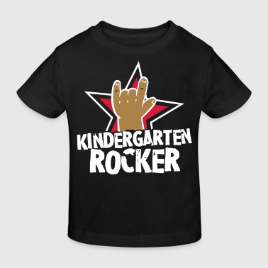 Kindergarten Rocker - Kleinkind - Kind - Rocker - Kinder Bio-T-Shirt