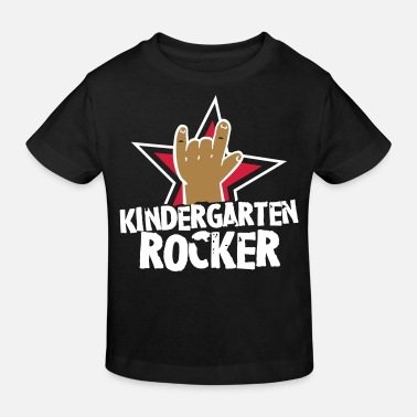 Rocker Kindergarten Rocker - Kleinkind - Kind - Rocker - Kinder Bio-T-Shirt