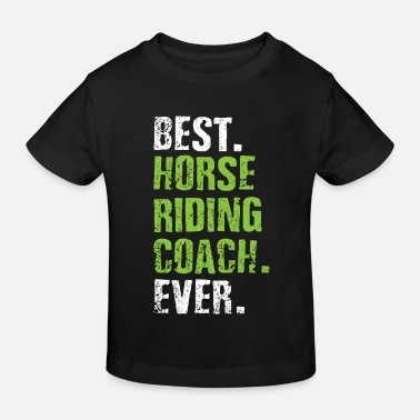 Paardensport Trainer Paardensport - Kinderen bio T-shirt