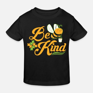 Puzzle Bee Kind Autism Awareness Autism Superhero - T-shirt bio Enfant