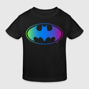 Batman Neon Logo Teenager Langarmshirt - Kinder Bio-T-Shirt