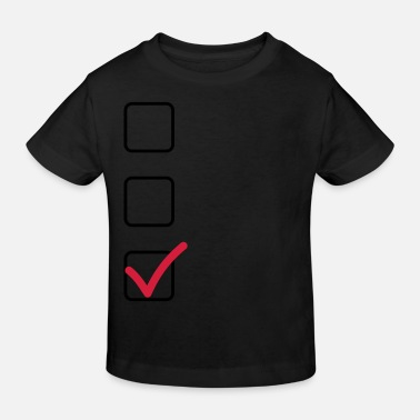 Individualisieren Checkliste - Kinder Bio T-Shirt
