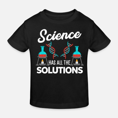 Research Science research experiment - Kids' Organic T-Shirt