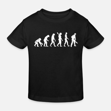 Legendär Holzfäller Evolution - Kinder Bio T-Shirt