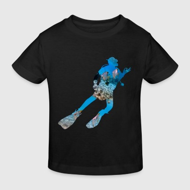 Diver in the house - Kinder Bio-T-Shirt