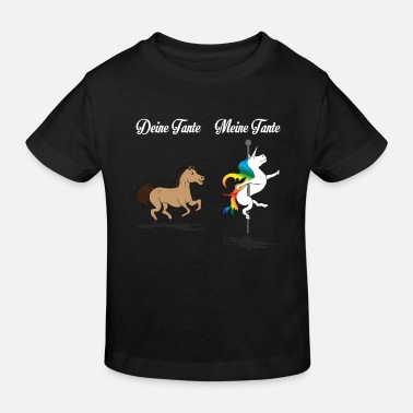 Unicorn Horse Your Aunt My Aunt Gift DE - Kids' Organic T-Shirt