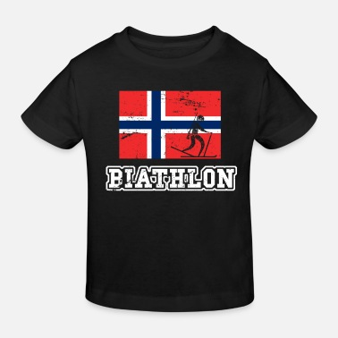 Norway Biathlon Norway - Kids' Organic T-Shirt