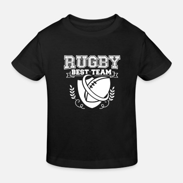 Rugby Rugby rugby rugby - Kids' Organic T-Shirt
