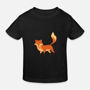 Clever Fox - Clever - Clever - Gift - Ekologisk T-shirt barn