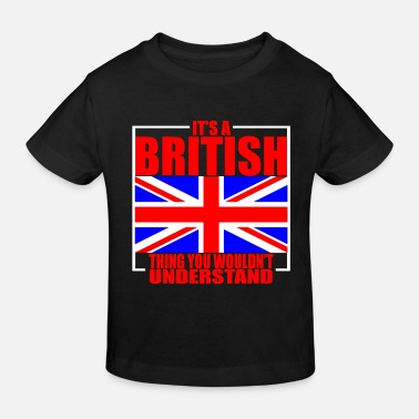 Great Britain culture - Kids' Organic T-Shirt