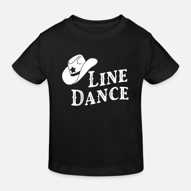 Step Line Dance - Kinder Bio T-Shirt