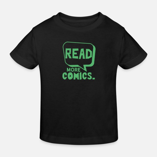 Caricature Baby Clothes - Cartoon Paint Comic Artist Comics Cartoon Cartoon - Kids' Organic T-Shirt black