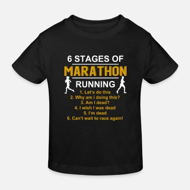 Running Funny Running Jogging Cardio Run Runner Gift - Kids' Organic T-Shirt