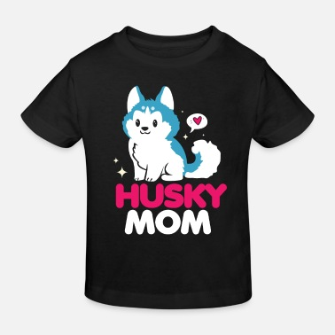 Dog Husky dog dog hairdresser dog lover dog lover - Kids' Organic T-Shirt