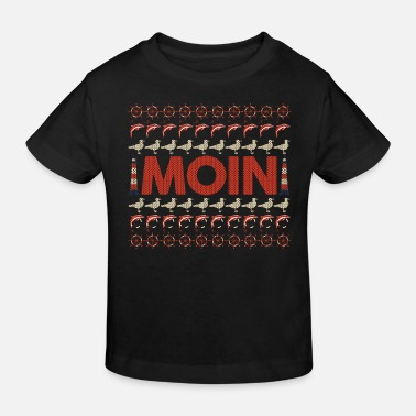 North Sea North German Platt saying gift · Moin - Kids' Organic T-Shirt